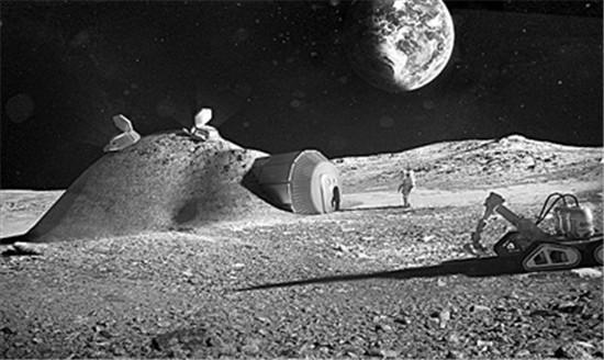 20年后的人类,是要冒着生命危险去火星上走两步?还是在月球的豪华