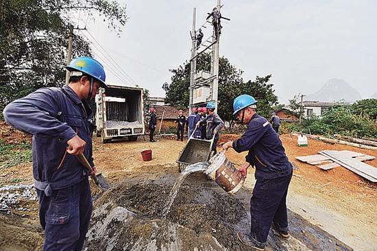 南方电网新一轮农网改造升级显成效