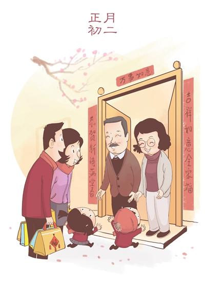 期间更有一系列传统文化活动增添节日气氛,比如贴春联,上香,撞钟祈福