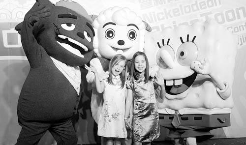 中国/6月17日,北京,尼克儿童频道宣布开创《中国卡通》栏目,用于...